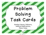 Problem Solving Task Cards for K-2 Students