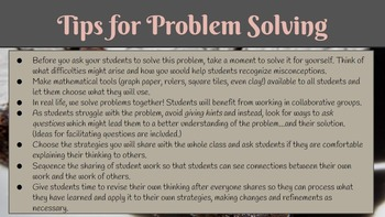 Problem Solving Task_Brownie Problem_Fractions/Multiplication/Division/Comparing