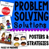 Problem Solving Techniques Visual Support Posters, Song, and Strategies