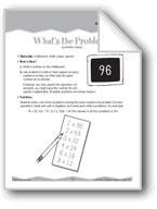 Problem Solving (Ten-Minute Activities)