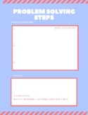 Problem Solving Therapy Worksheet