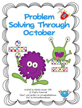 Problem Solving Through October