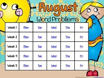 Problem Solving Through the Year: BUNDLED SET (August-May)