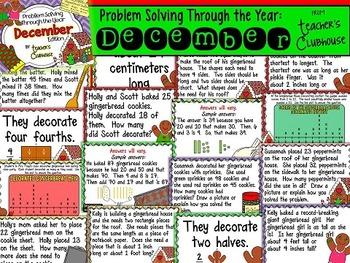 Problem Solving Through the Year: December Edition