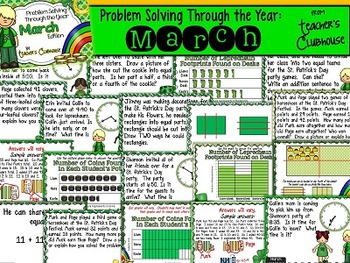 Problem Solving Through the Year: March Edition