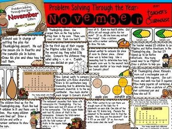 Problem Solving Through the Year: November Edition