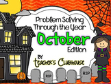 Problem Solving Through the Year: October Edition