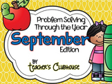 Problem Solving Through the Year: September Edition