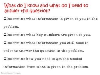 Problem Solving Unit