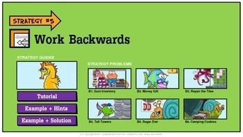 Problem Solving Unit 5: Work Backwards