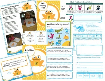 Math Intervention Problem-Solving Unit {Todd Tallying Toad}