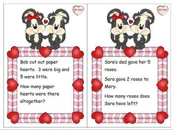 Problem Solving Valentine Theme