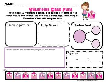 Problem Solving: Valentines in Spanish & English