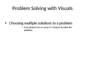 Problem Solving Visuals