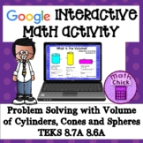 Problem Solving Volume of Spheres, Cones and Cylinders GOO