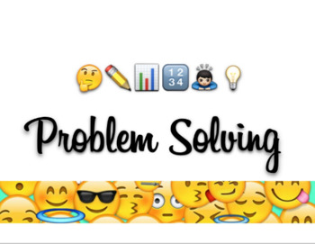 Problem Solving Wall Sign