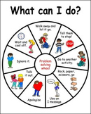 Problem Solving Wheel Autism