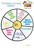 Problem Solving Wheel (Social Skills Groups)