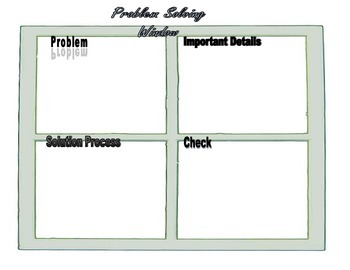 Problem Solving Window