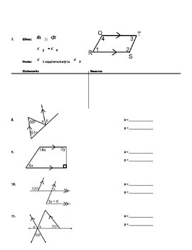 Problem Solving With Parallel Lines