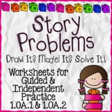 Word Problems for First Grade 1.OA.1