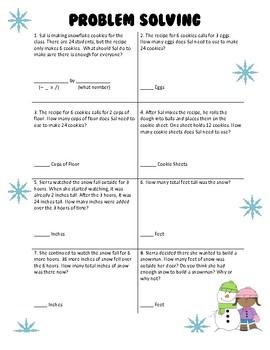 Problem Solving Word Problems