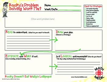 Problem Solving Work Mat