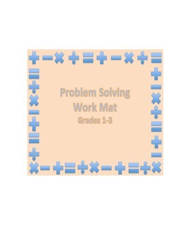 Problem Solving Work Mat