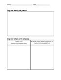 Behavior Problem Solving Worksheet