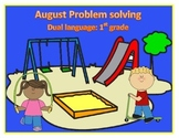 Problem Solving (addition)- Dual Language