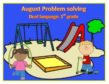 Problem Solving (addition)- Dual Language