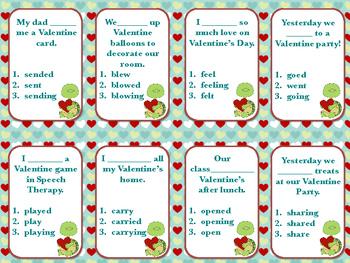 Problem Solving and Grammar Valentine Freebie