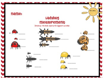 Problem Solving and Measurement with Ladybugs