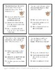 """Problem Solving and Social Skills Task Cards:  """"So You Think You Have Problems?"""""""