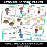 Problem Solving and Solutions Visual Supports NO PREP