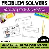 January Problem Solving