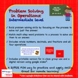Problem Solving in Operations: Intermediate Level