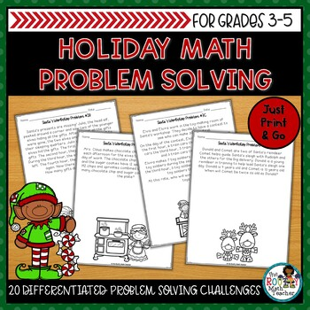Problem Solving in Santa's Workshop Math Pack