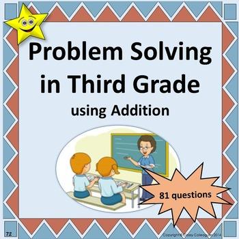 Problem Solving in Third Grade - Addition