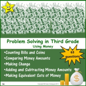 Problem Solving in Third Grade - Money
