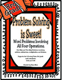 Problem Solving is Sweet!:Multi-Step Problems All Operations TEKS 3.4A 3.4K