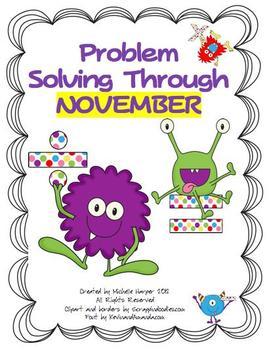Problem Solving through November