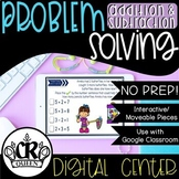 Problem Solving with Addition and Subtraction Activity for Google Classroom