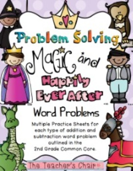 Problem Solving with Bar Modeling: 'Problem Solving Magic & Happily Ever After'