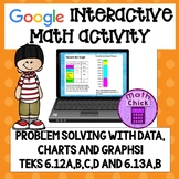 Problem Solving with Data, Graphs and Charts TEKS 6.12A B C D and 6.13A B