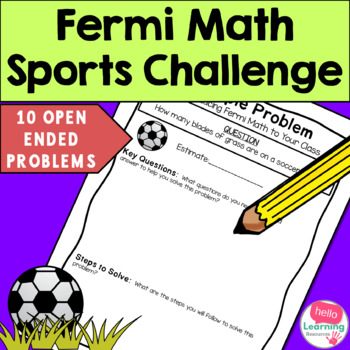 Open Ended Math Tasks - Sports Theme