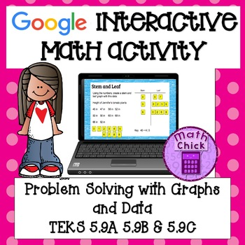 Problem Solving with Graphs and Data TEKS 5.9A 5.9B 5.9C Google Classroom