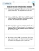 Problem Solving with Intergers & Rational Numbers (Real-Wo