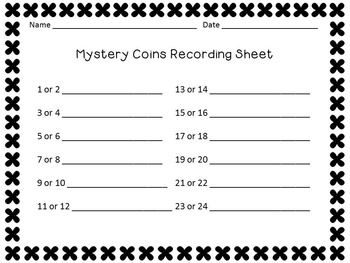 Problem Solving with Money - Identify the Mystery Coin