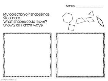 2D Geometry Problem Solving Activities